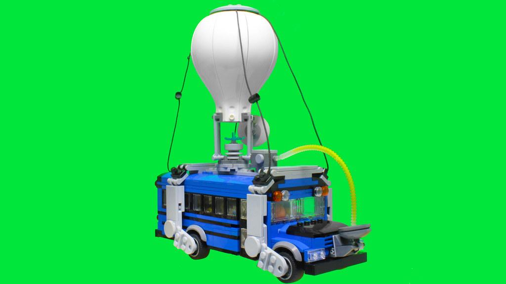 Lego Fortnite Battle Bus Moc Instructions Here Www Youtub Flickr