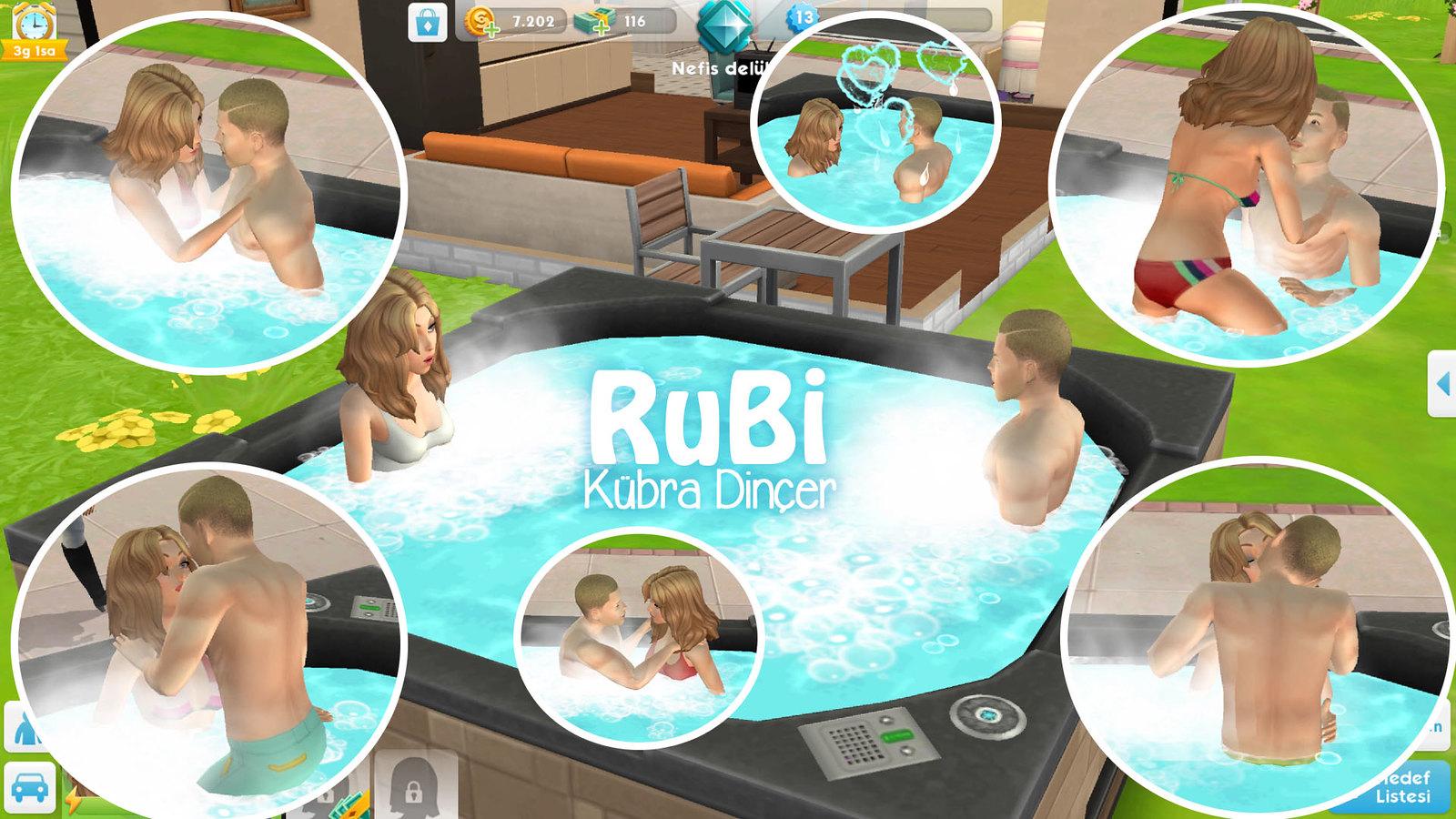 The Sims Mobile Parties Parti Vermek Arkadaş Sim'iyle Bağlantı Kurmak Sim'i Kişilere Eklemek Jakuzi Hot Tub Dreams Küvet Rüyaları Etkinliği Ödülü