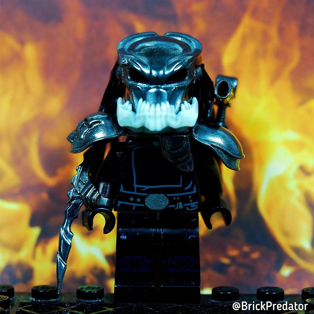 Berserker Predator Fire Day Custom Lego Minifigure