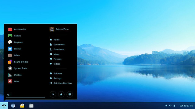 zorin-os-desktop-environment