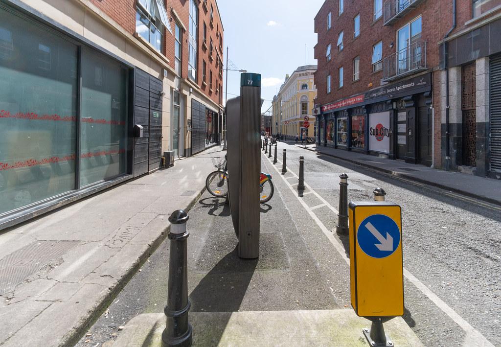 DUBLINBIKES DOCKING STATION 77 WOLFE TONE STREET 001