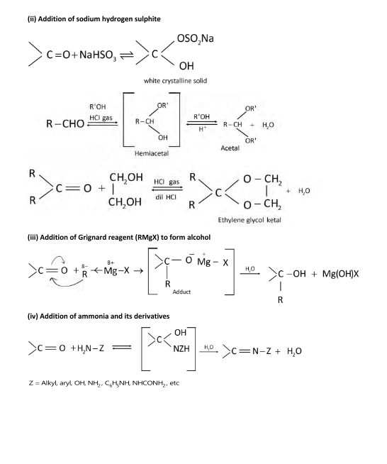 Important Notes of Chemistry for NEET, JEE: Aldehydes, Ketones and Carboxylic Acids
