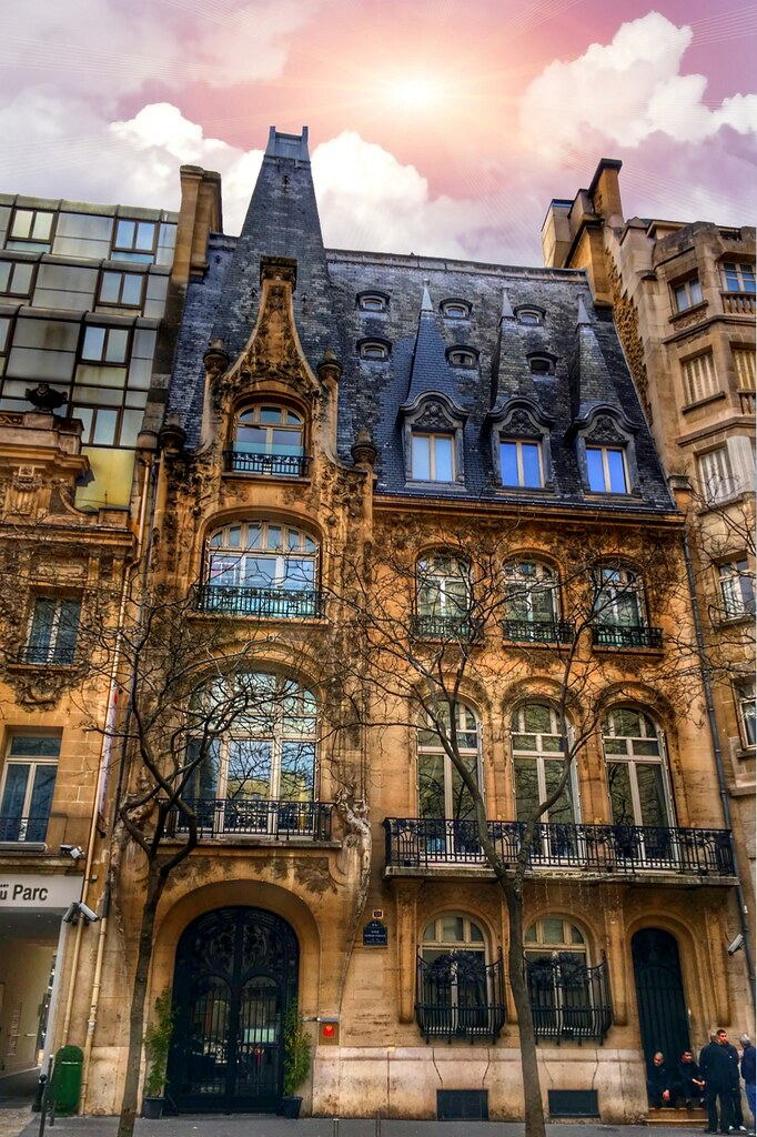 paris france art nouveau architecture style art nouvea flickr