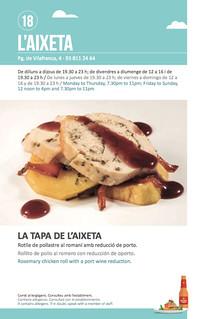 Sitges Tapa a Tapa 2018 - L'Aixeta