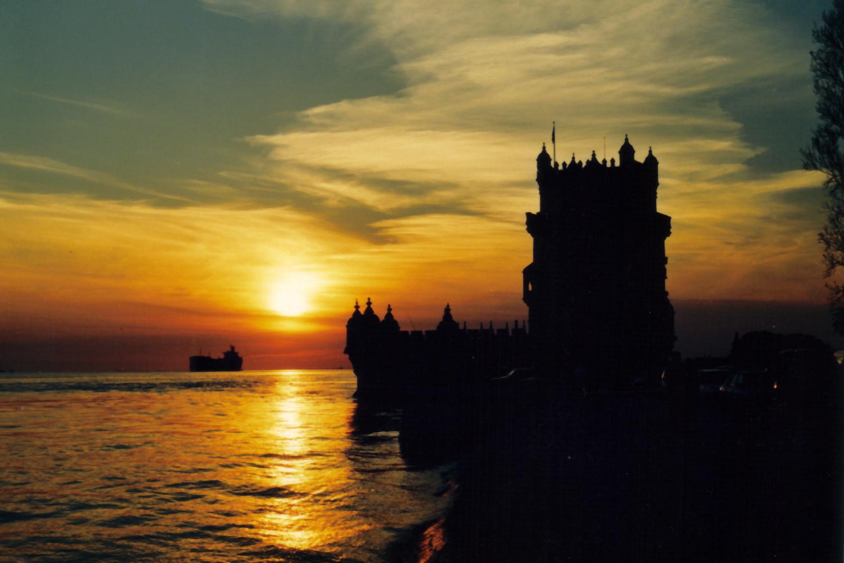 Torre de Belém, Lisboa © 1990