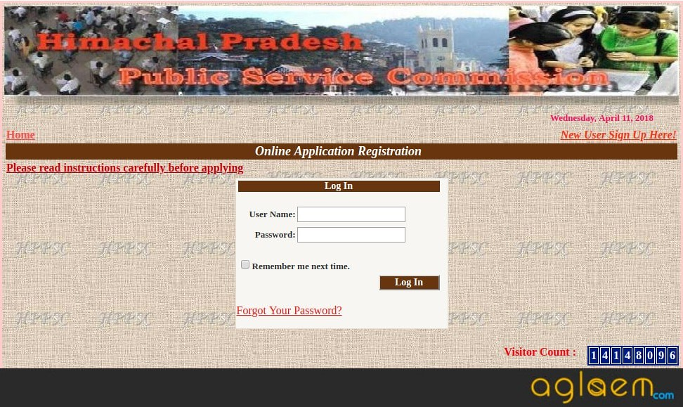 HPPSC Allied Subordinate Services Admit Card 2018   Download Here