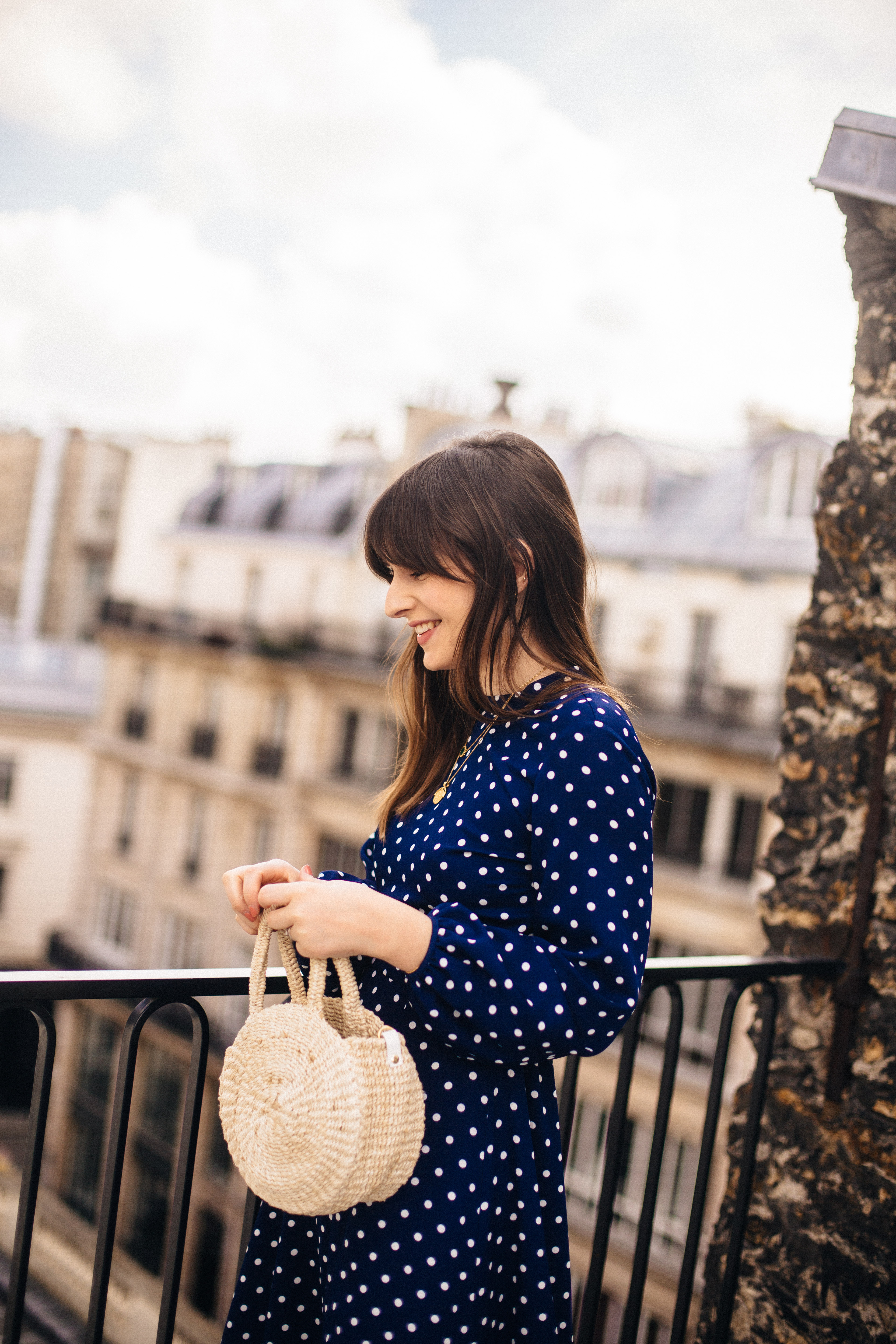 Paris in Spring with TOMS x Clare V...