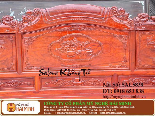 SAL5838d Salong Khong Minh do go my nghe hai minh