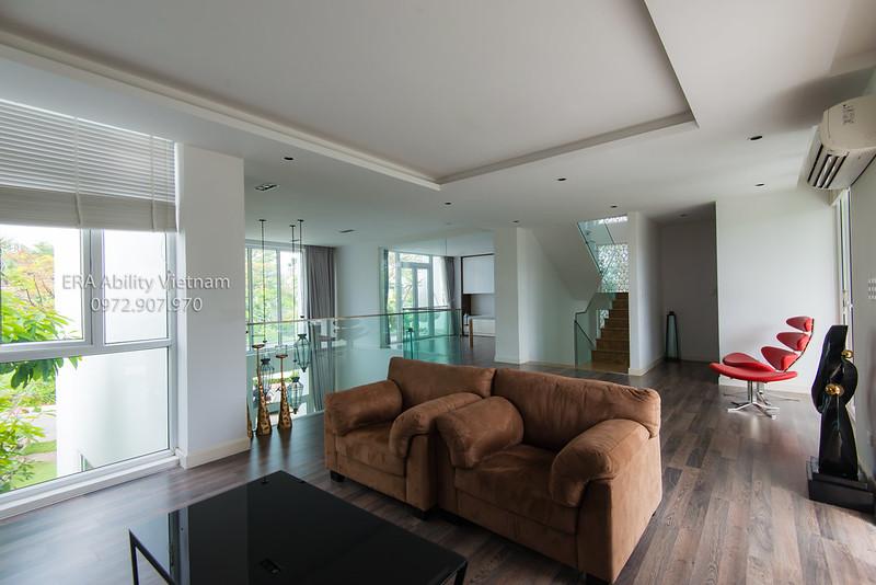 Phòng giải trí cho cả gia đình nhà mẫu Biệt thự Villa Park