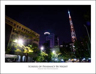 School of Pharmacy UMP by night | by Mai Thanh Tan