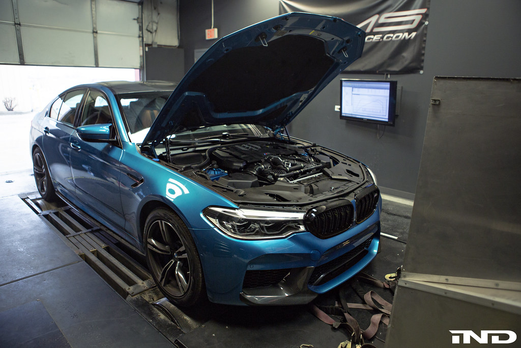F90 M5 First Baseline Dyno Post Break In Ind Distribution