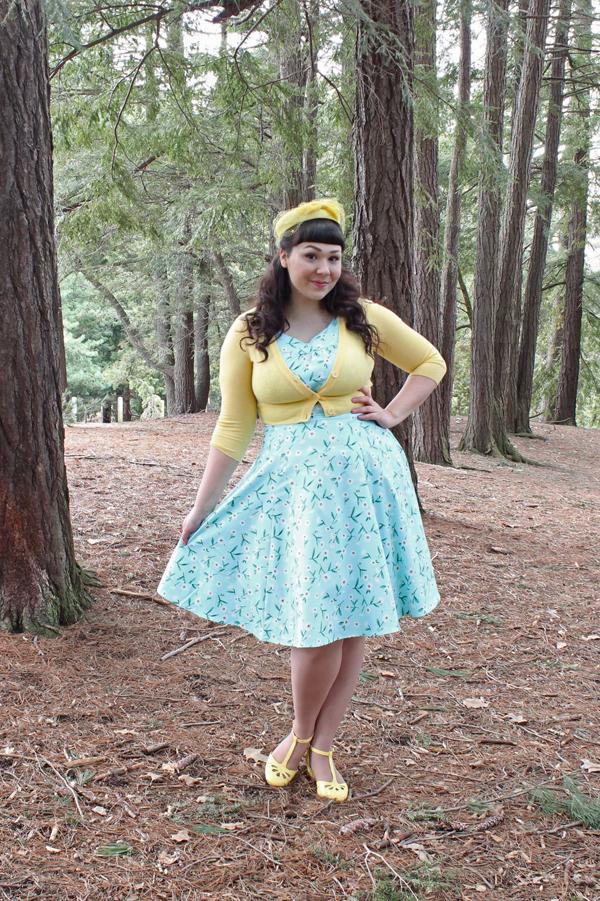 spring pinup dress