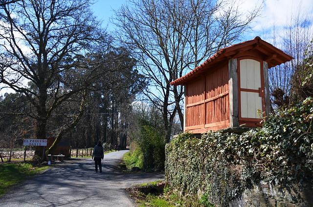 Drying shed, Camino de Santiago, Galicia