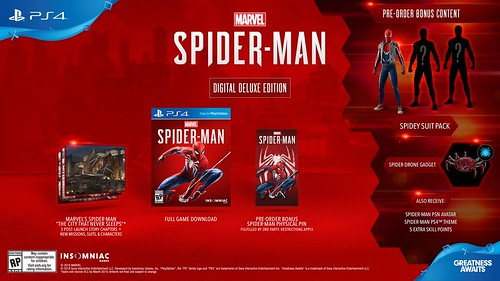 Marvel's Spider Man Digital Deluxe Edition | by PlayStation.Blog