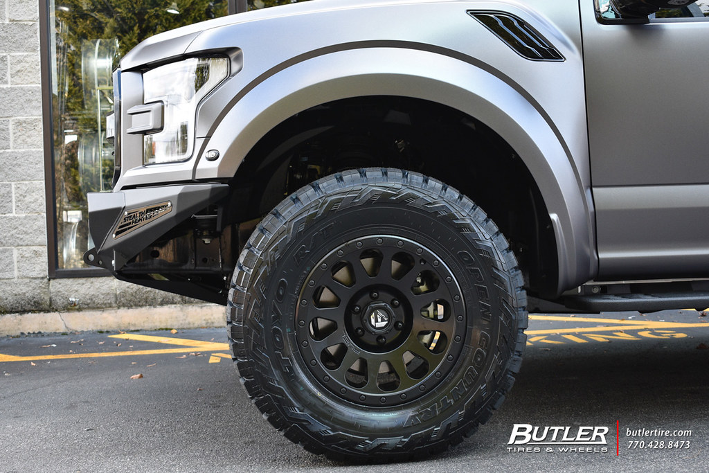 Ford Raptor with 18in Fuel Ripper Wheels and Toyo Open Cou ...