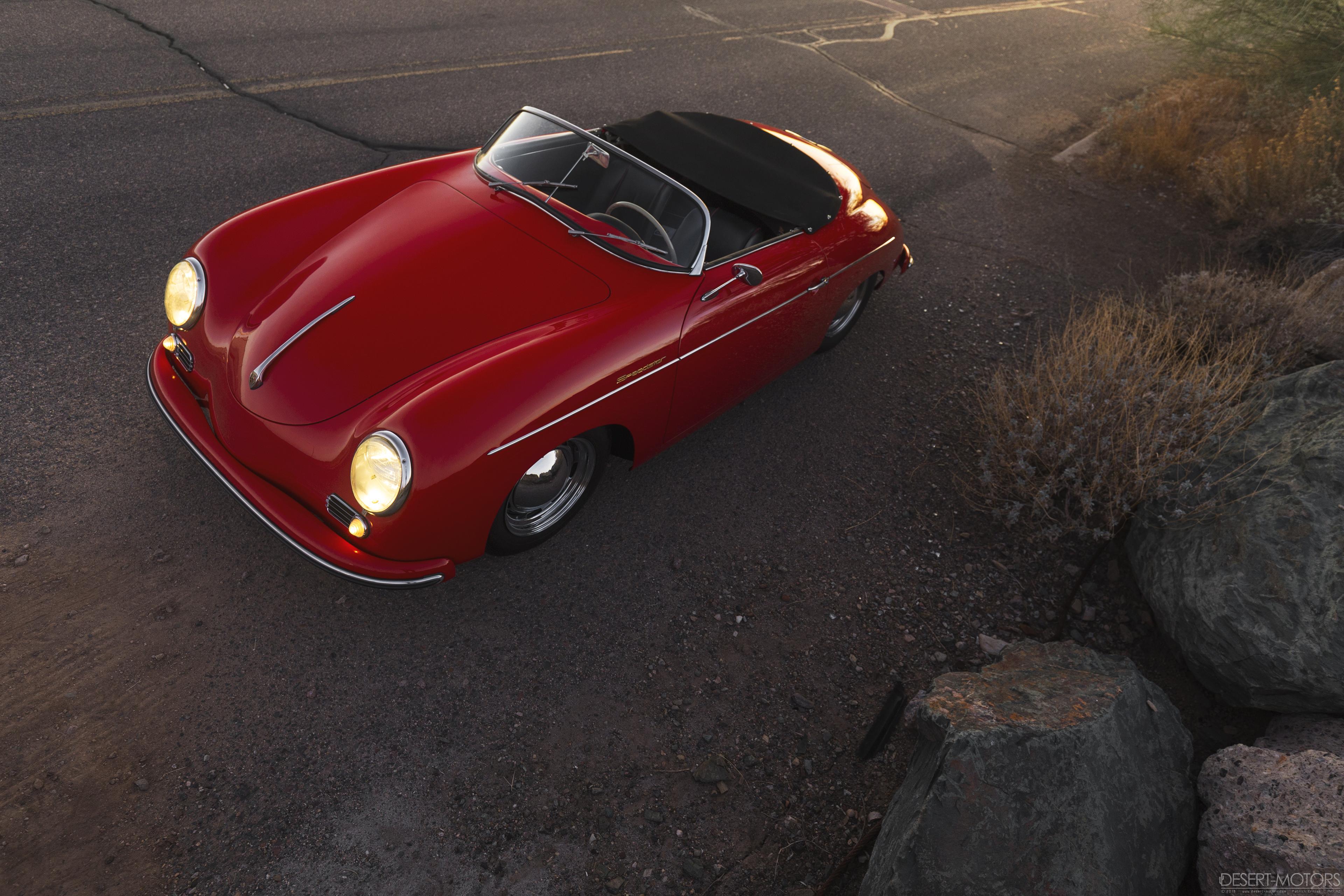 Car 1954 Porsche 356 Pre A Speedster Nosillysuffix