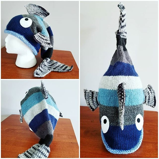 Fish Hat For Thejacdgold Knitting Via Instagram Ift Flickr