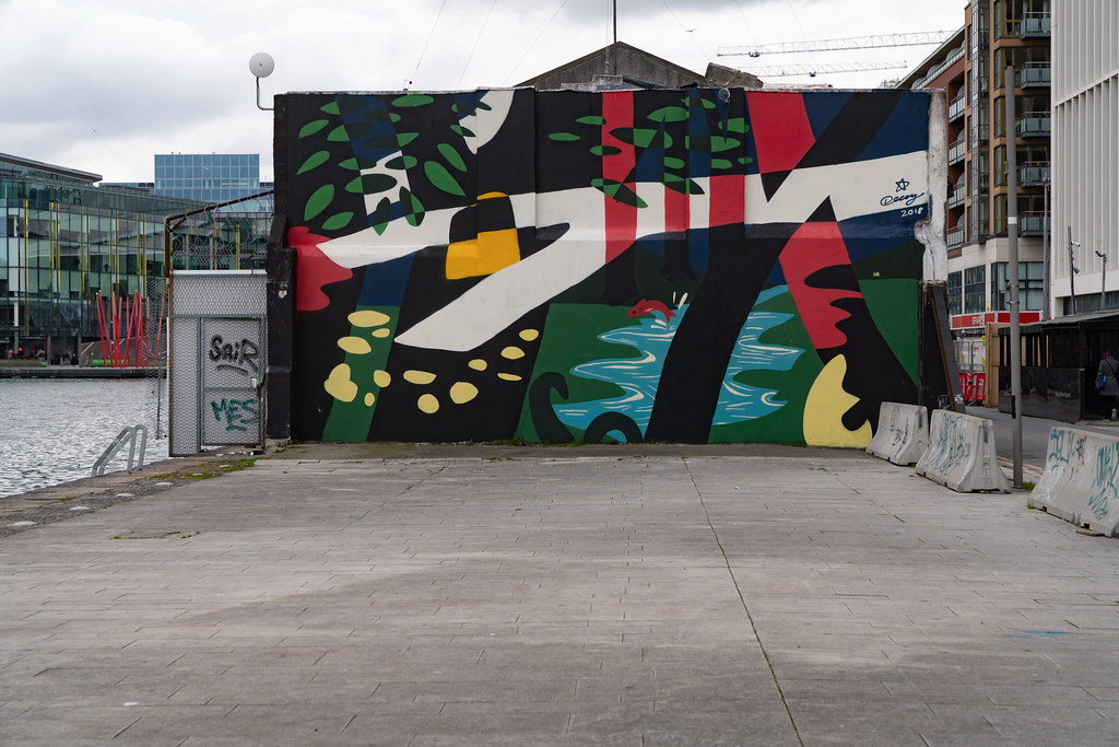DUBLIN STREET ART BY DECOY [HANOVER QUAY APRIL 2018] 001