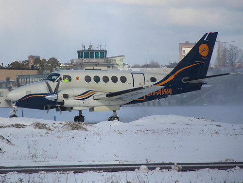 LN-AWA Beech A100 King Air, Airwing, Stockholm/Bromma ESSB | by Krister Karlsmoen