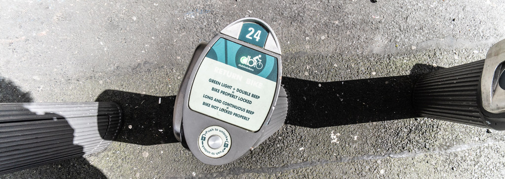 DUBLINBIKES DOCKING STATION 77 WOLFE TONE STREET 005
