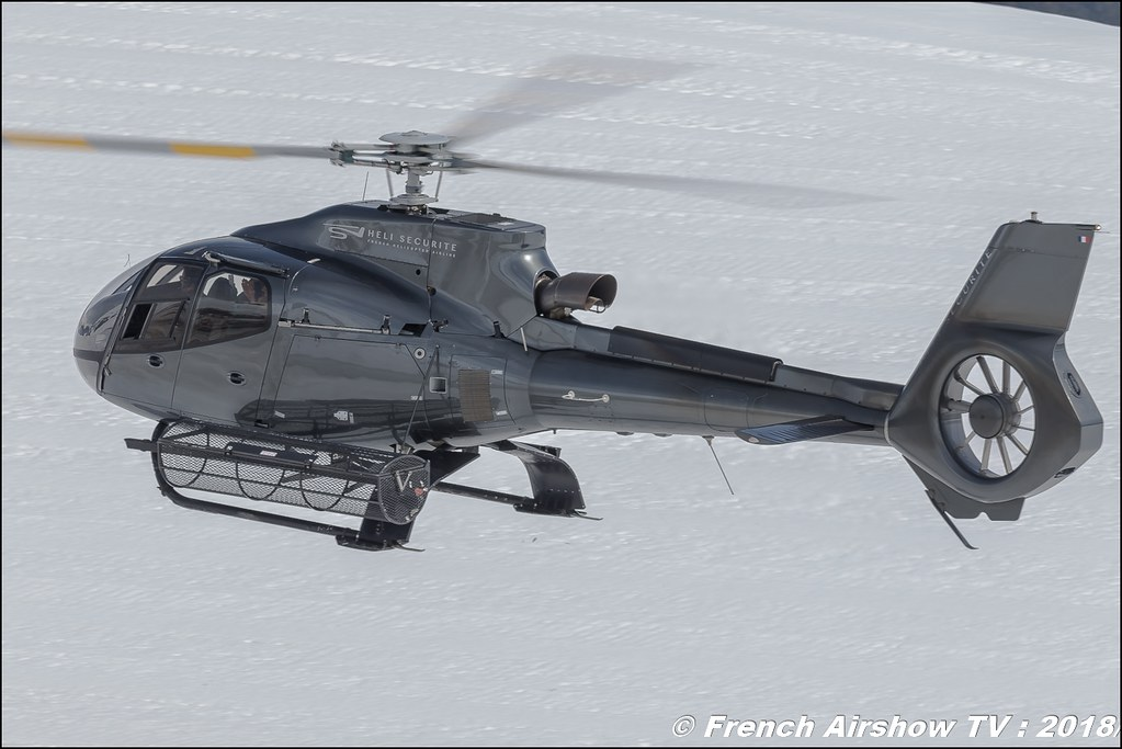Eurocopter EC-130B-4 - F-HDRY , Héli Securité - Helicopter Airline , Fly Courchevel 2018 - Altiport Courchevel , Meeting Aerien 2018