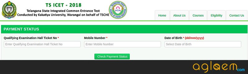 TS ICET 2018 Application Form Released - Apply Online  %Post Title, %Post Category, AglaSem