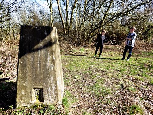 Telegraph Hill trig pillar
