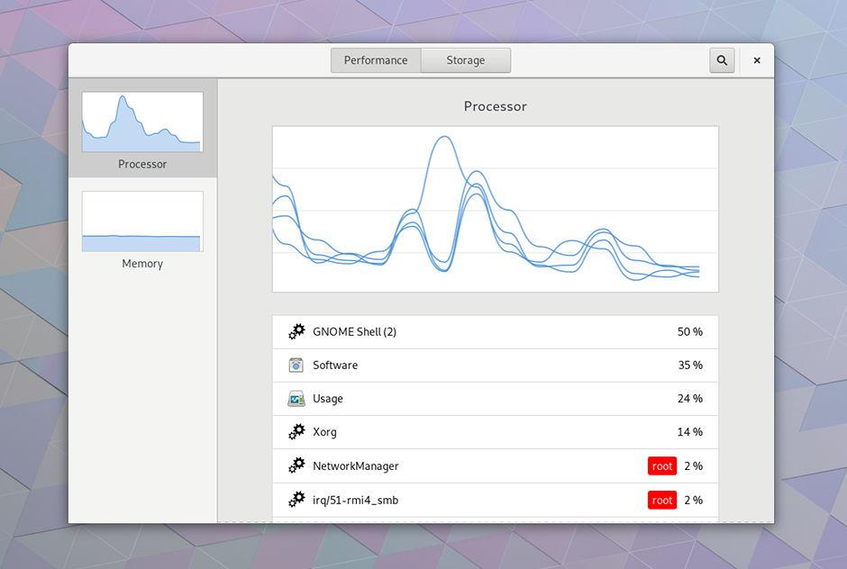 Uso-monitor-de-sistema-en-GNOME-3-28