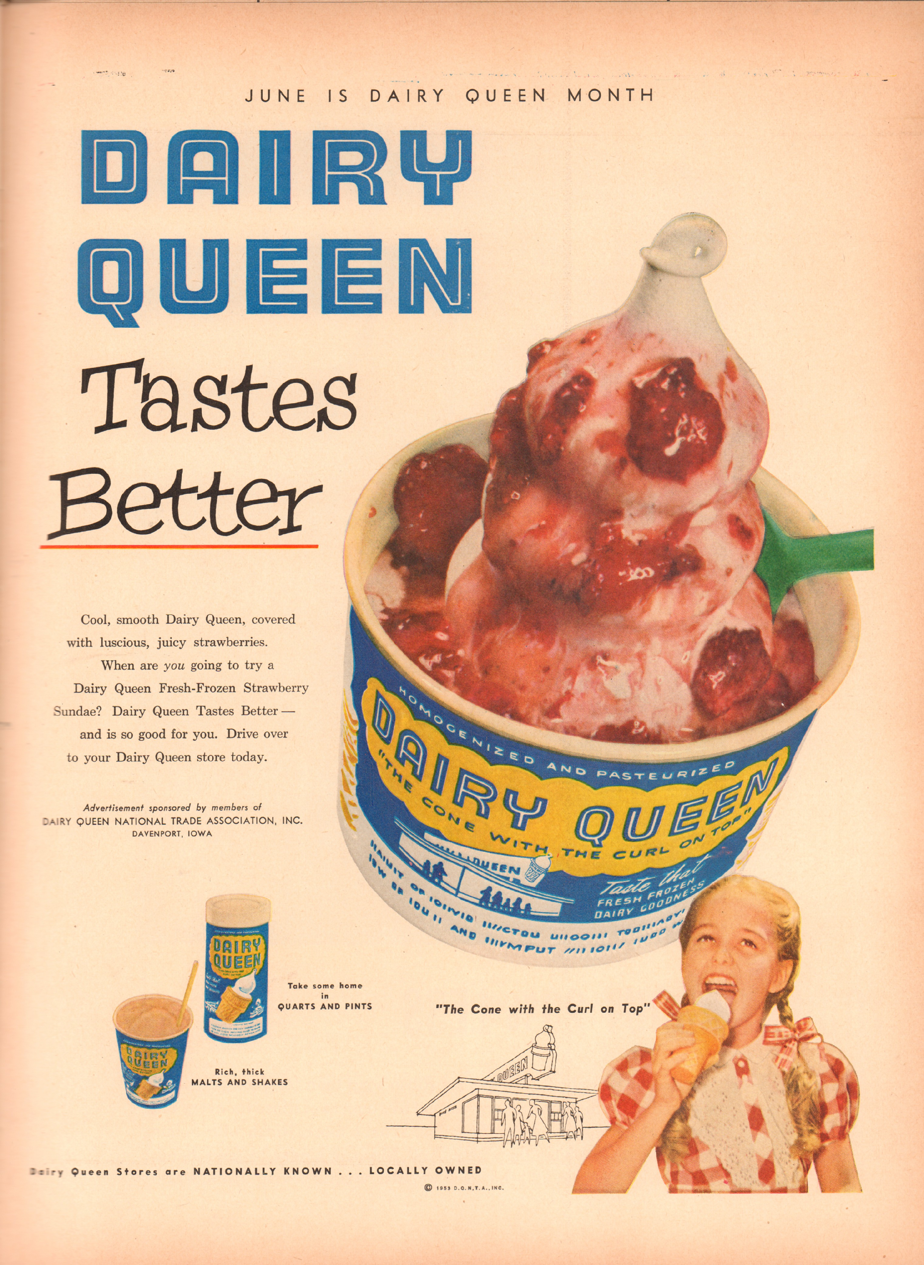 Dairy Queen - published in Life - June 15, 1953