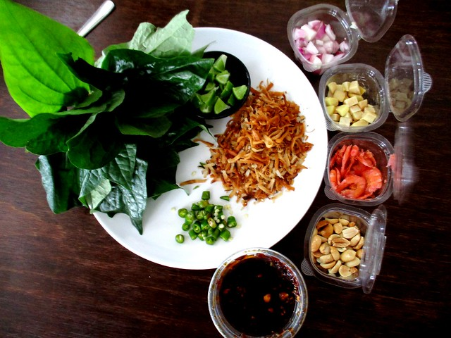 Miang kam from Peter
