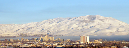 Reno in winter, from Hidden Valley | by simonov