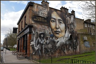 Sylvia Pankhurst Mural @ Bow East London 2018 | by Loco Steve