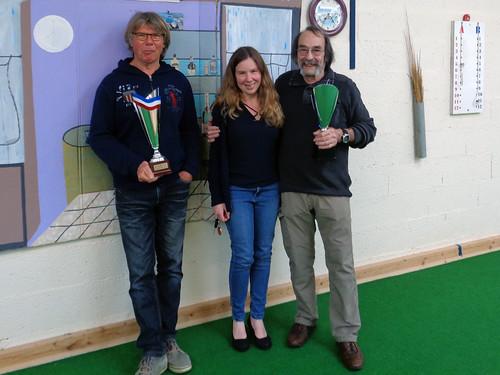 14/04/2018 - Entente Morlaix / Saint Martin : Concours de boules plombées en tête-à-tête à Saint Martin des Champs