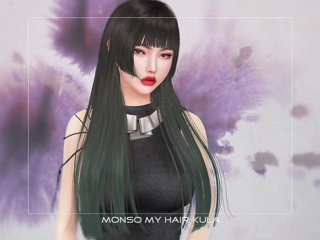 Monso My Hair Kula New Girls Long Hime Cut Hairstyle I Flickr