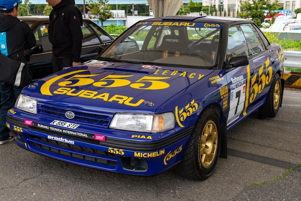 Subaru Legacy Rs 1993 New Zealand Rally Jun Oha Flickr