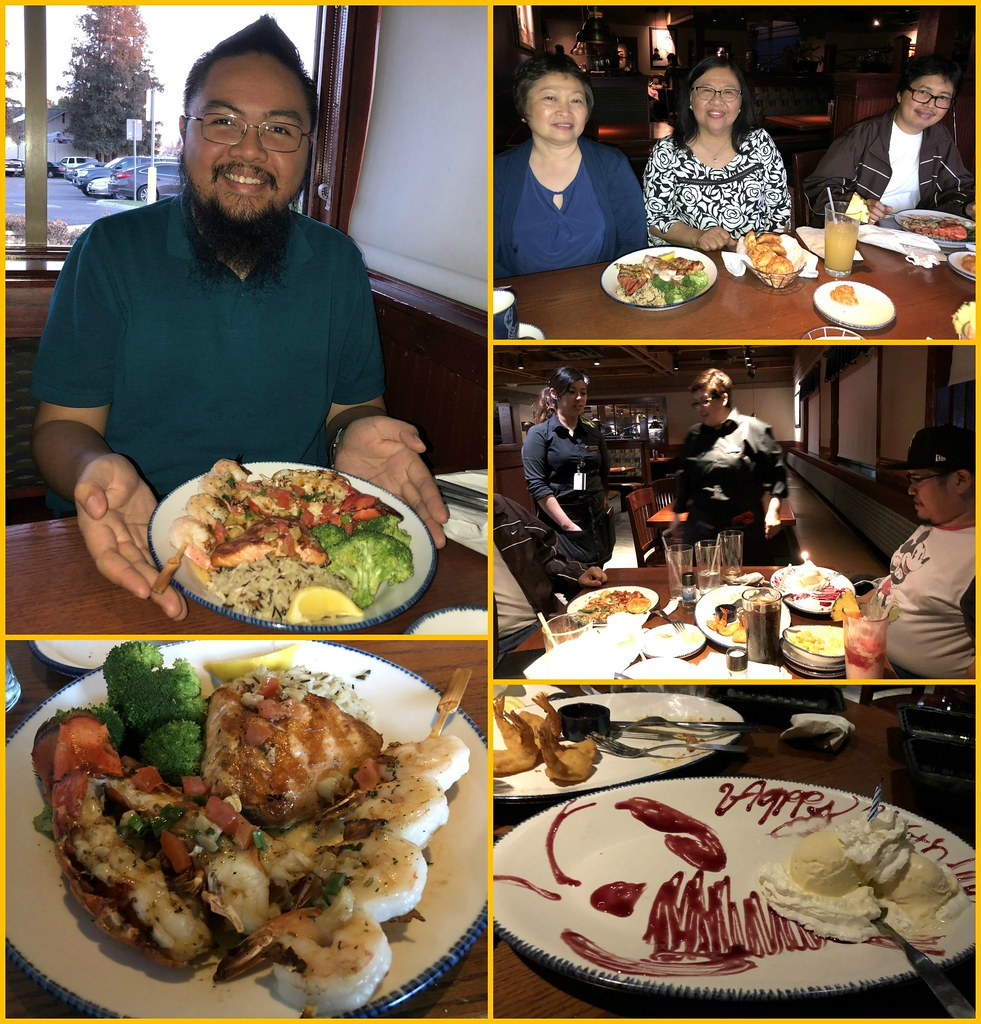Family Dinner For Richie`s Late Birthday At Red Lobster (4