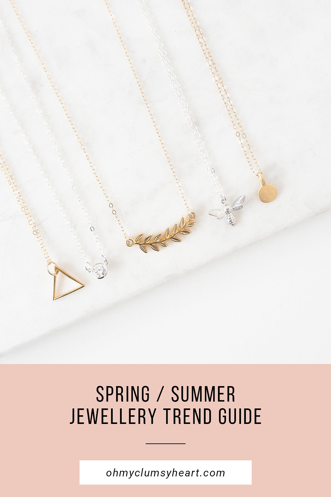 Spring Summer Jewellery Trends 2018