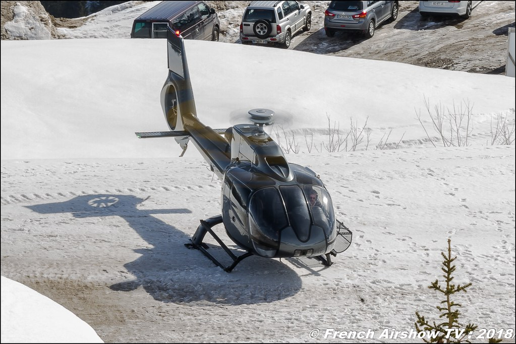 Eurocopter EC-130B-4 - F-HDRY , Héli Securité - Helicopter Airline , Fly Courchevel 2018