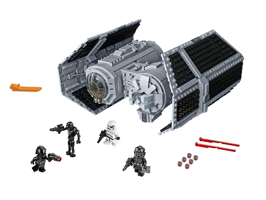 Lego Tie Bomber Product Shot It Has Been Far Too Long Sinc Flickr