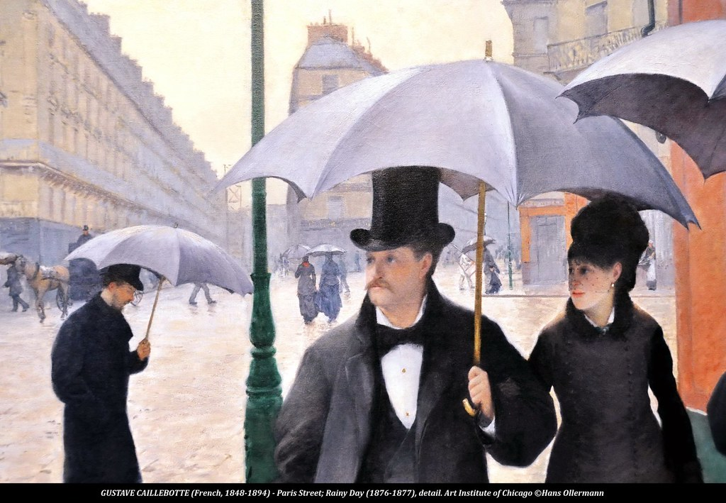 gustave caillebotte french 1848 1894 paris street ra flickr