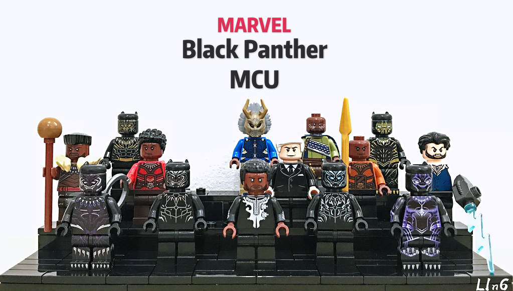 Black Panther Mcu Incomplete Lego Marvel Collection
