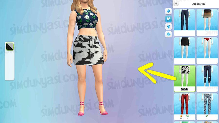 The Sims Mobile Asos Fashion Show Quest ASOS Defilesi Etkinliği