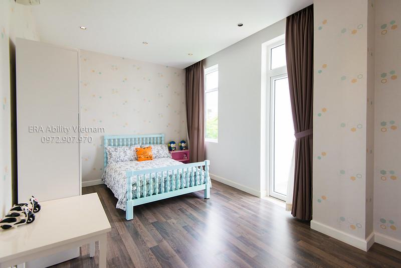 Phòng ngủ dễ thương cho các bé