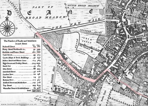 002-Taylors Map 1750 | by Lost Wolverhampton
