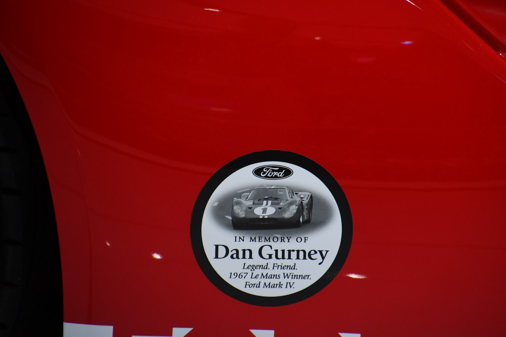 Dan Gurney Commemorative Ford Gt  North American International Auto Show In Detroit