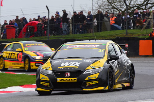 Jack Goff, Honda Civic Type R, British Touring Car Championship, Brands Hatch Indy 2018