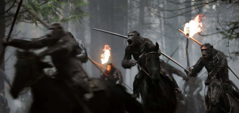 Where was War for the Planet of the Apes filmed?