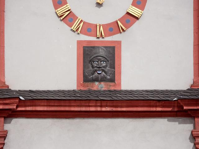 Augenroller am Alten Kaufhaus in Koblenz