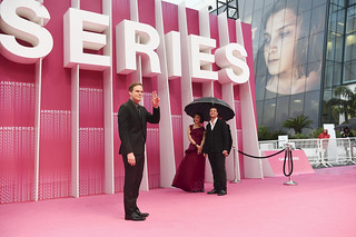 MIPTV 2018 - EVENTS - CANNESERIES - PINK CARPET | by mipmarkets