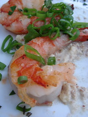 prawns with garlic almond puree | by shauna | glutenfreegirl
